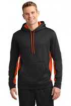Sport-Tek Sportwick Fleece Colorblock Hooded Pullover ST235