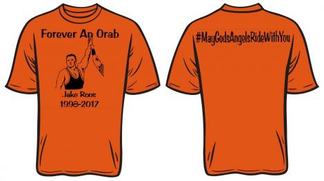 Jake Roos Benefit T-shirt