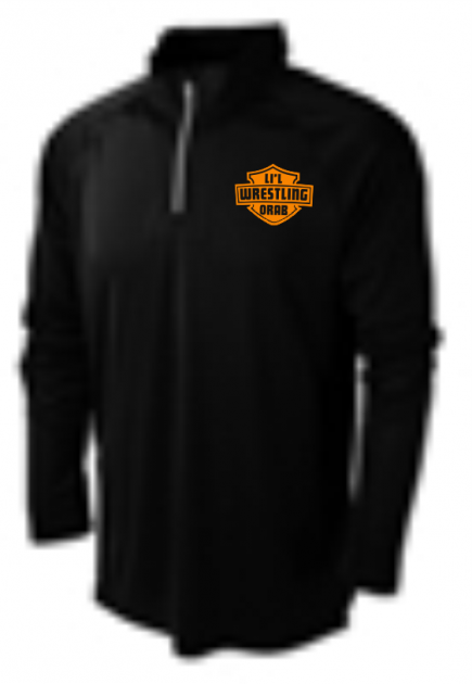 BAW Athletic Wear Extreme-Tek 4 Runner ¼ Zip Pullover