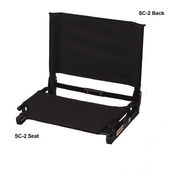 stadium chairs (large) – top notch stitching