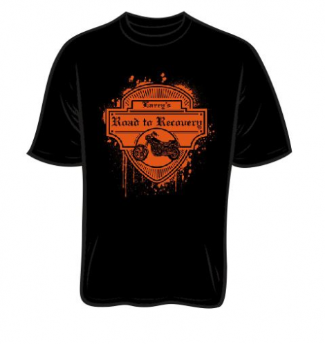 Larry Hoekstra Road to Recovery T-shirt